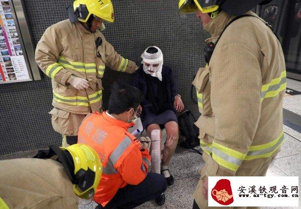 香港地铁纵火案 男子一包菊花茶救了3个人
