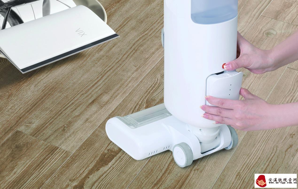 无线地面清洗机上架小米有品:可干湿混扫