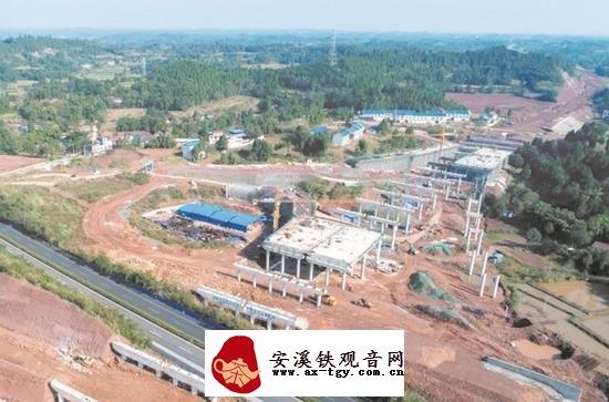 建设中的成资渝高速(来源:成都日报)